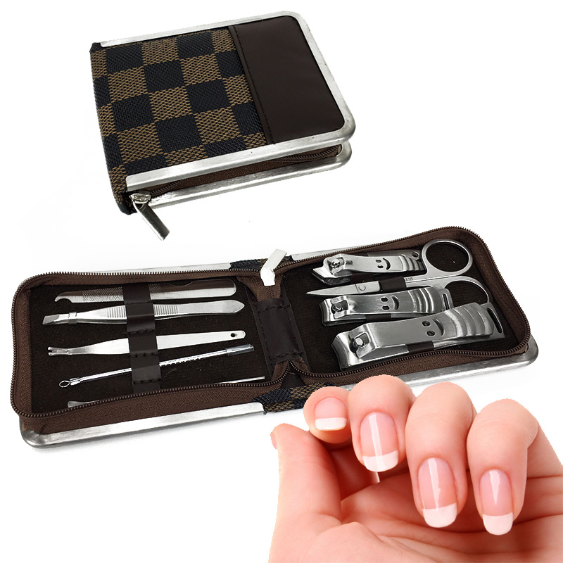 10-Piece Stainless Steel Manicure Set
