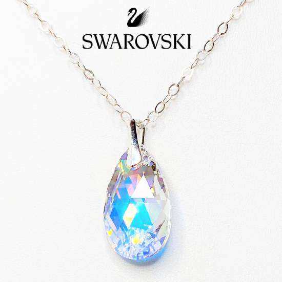 Swarovski Crystal Sterling Sil...