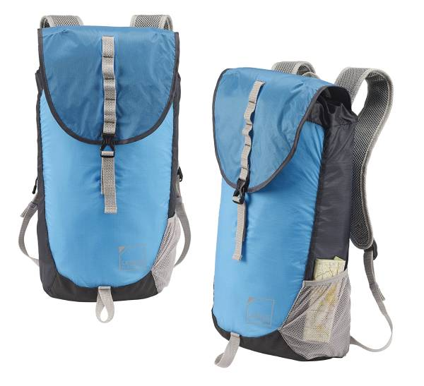 Lewis N. Clark ElectroLight Day Pack - This ULTRA LIGHT and compactible backpack carries everything you need without the bulk and weight! Only about 4 total ounces! Currently $29 at Amazon! You're getting a GREAT deal on this simply because it will take a few extra days to ship than normal - $1.49 shipping on this item, but order 2 or more and SHIPPING IS FREE!