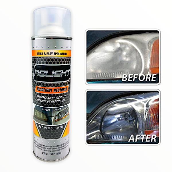 Relight Headlight Restorer $9.