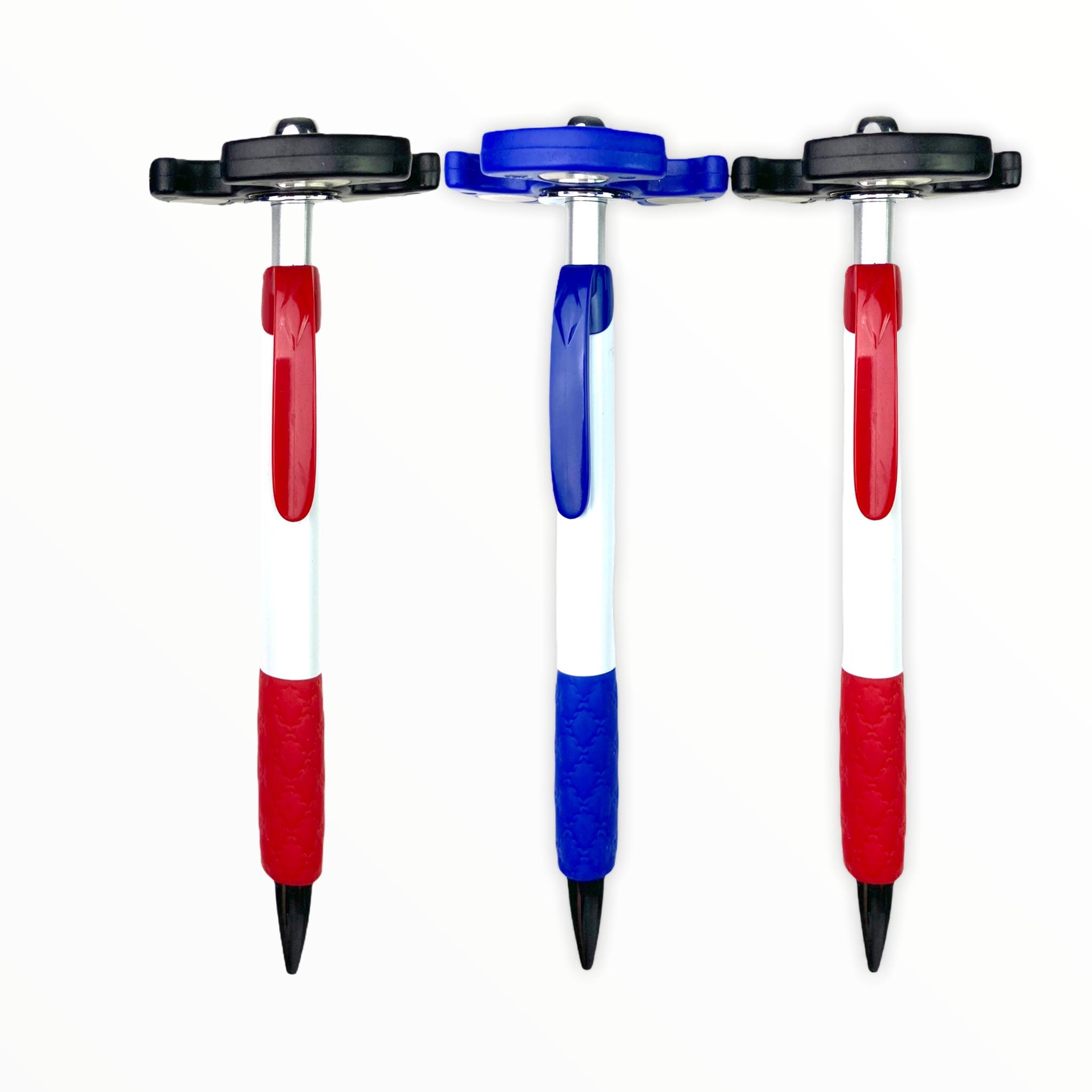 3 PACK of Retractable Spinner Pens $4.99 (reg $12)