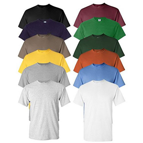 12-Pack Mens Ultra Soft Moisture Wicking T-Shirts