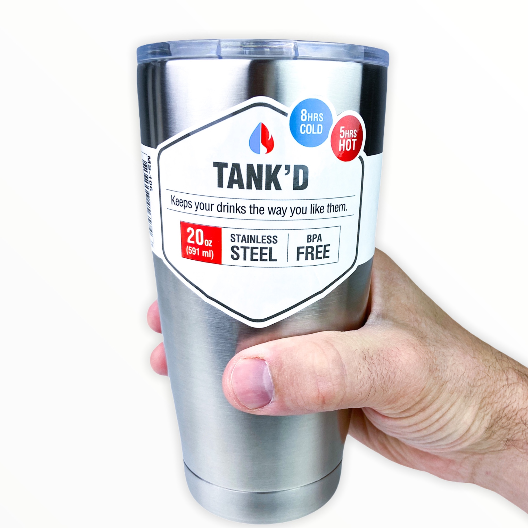 20 ounce TankD Stainless Steel...
