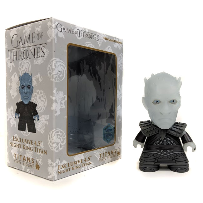 "Game of Thrones 4.5"" Night King Translucent Collectible Vinyl Figure"