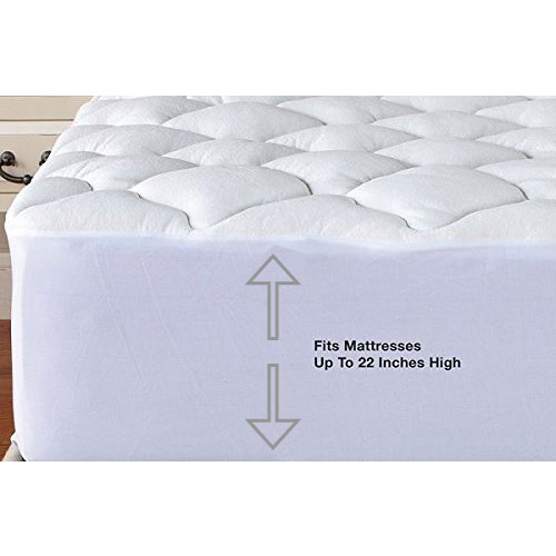 Aloe Vera Bamboo Essence Fitted Mattress Pad Protector