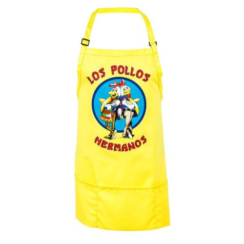 Breaking Bad Los Pollos Hermanos Yellow Apron