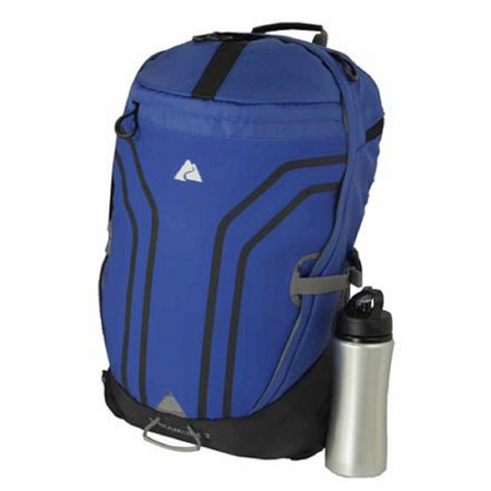 Ozark Trail Anvik 2 Backpack with Water Bottle
