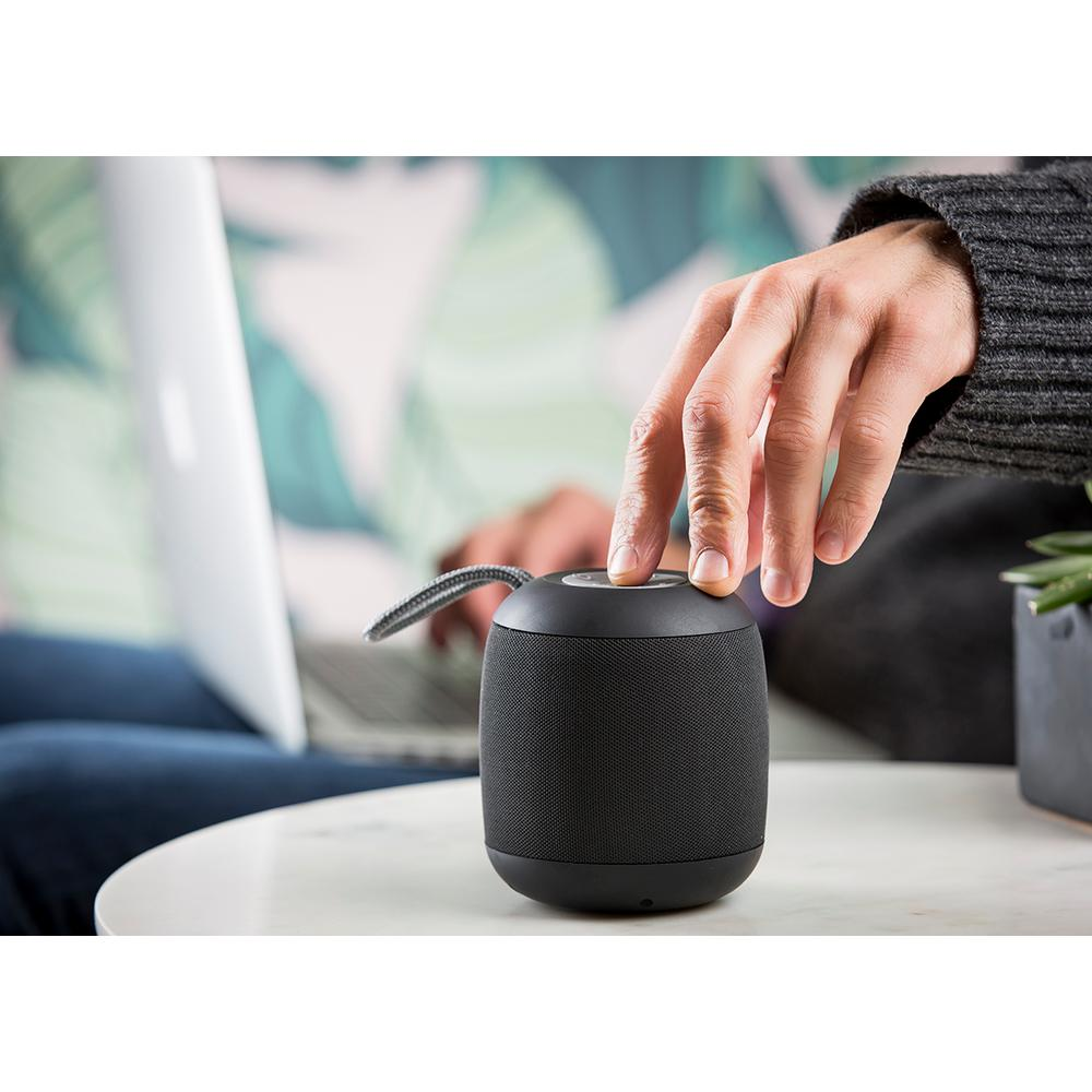 Google Voice Assistant/Siri Enabled Rechargeable Portable Bluetooth Speaker