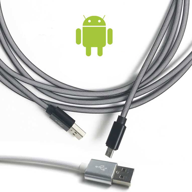 10-Foot High Speed Armored Micro USB Charge Cable