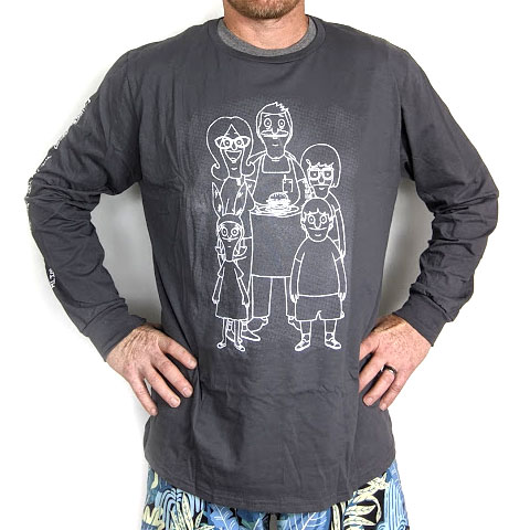 $9.99 (reg $24) Bob's Burgers Long Sleeve Tee in XL