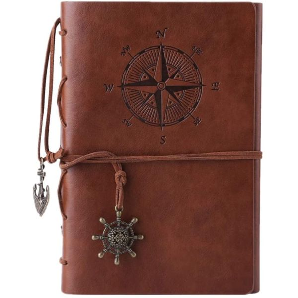 Vintage Spiral Journal Noteboo...