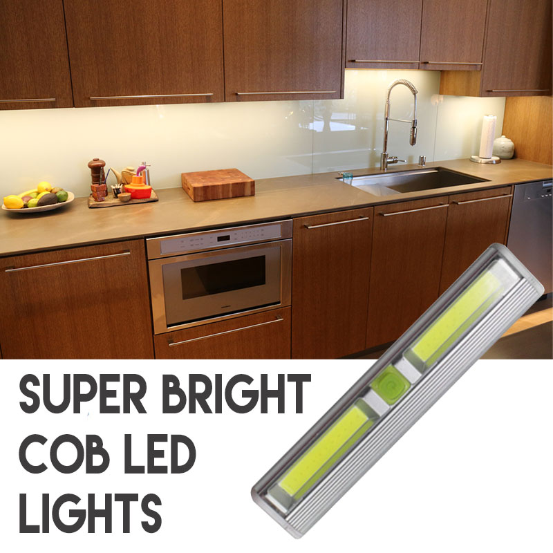 5 Deal Wireless Super Bright Cob Led Tap Light Perfect For Under Cabinet Lighting And More Batteries Included Just L Stick Where You Want
