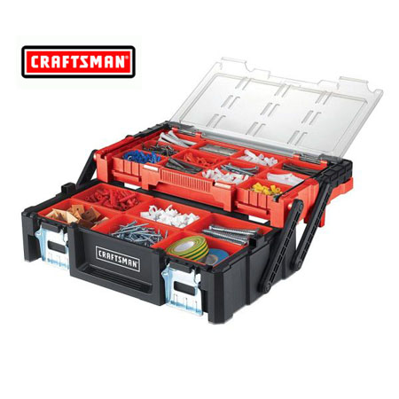 $24.99 (reg $50) Craftsman 18 in. Cantilever Tool Box