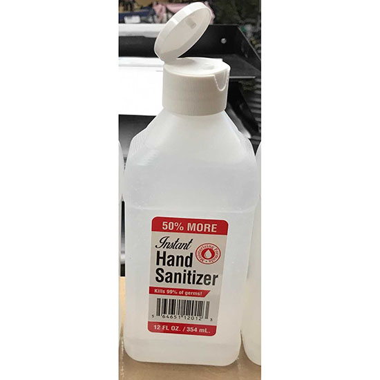 12 Ounce Hand Sanitizer - Made...