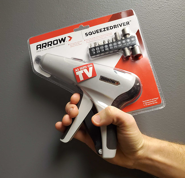 $9.99 (reg $30) Arrow Squeeze.