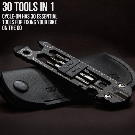 True Utility Cycle-On 30 Tools In One Multi-Tool Bicycle Kit - Spring is coming, be ready to get out there! Comes in very nice retail packaging! Currently $27 on amazon! SHIPS FREE & IMMEDIATELY!