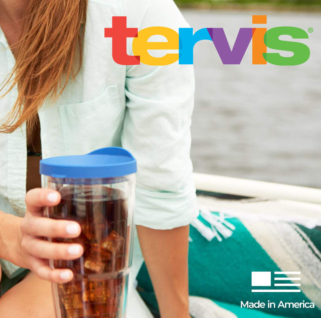 4-Pack Tervis 24oz Insulated Tumblers with Lids