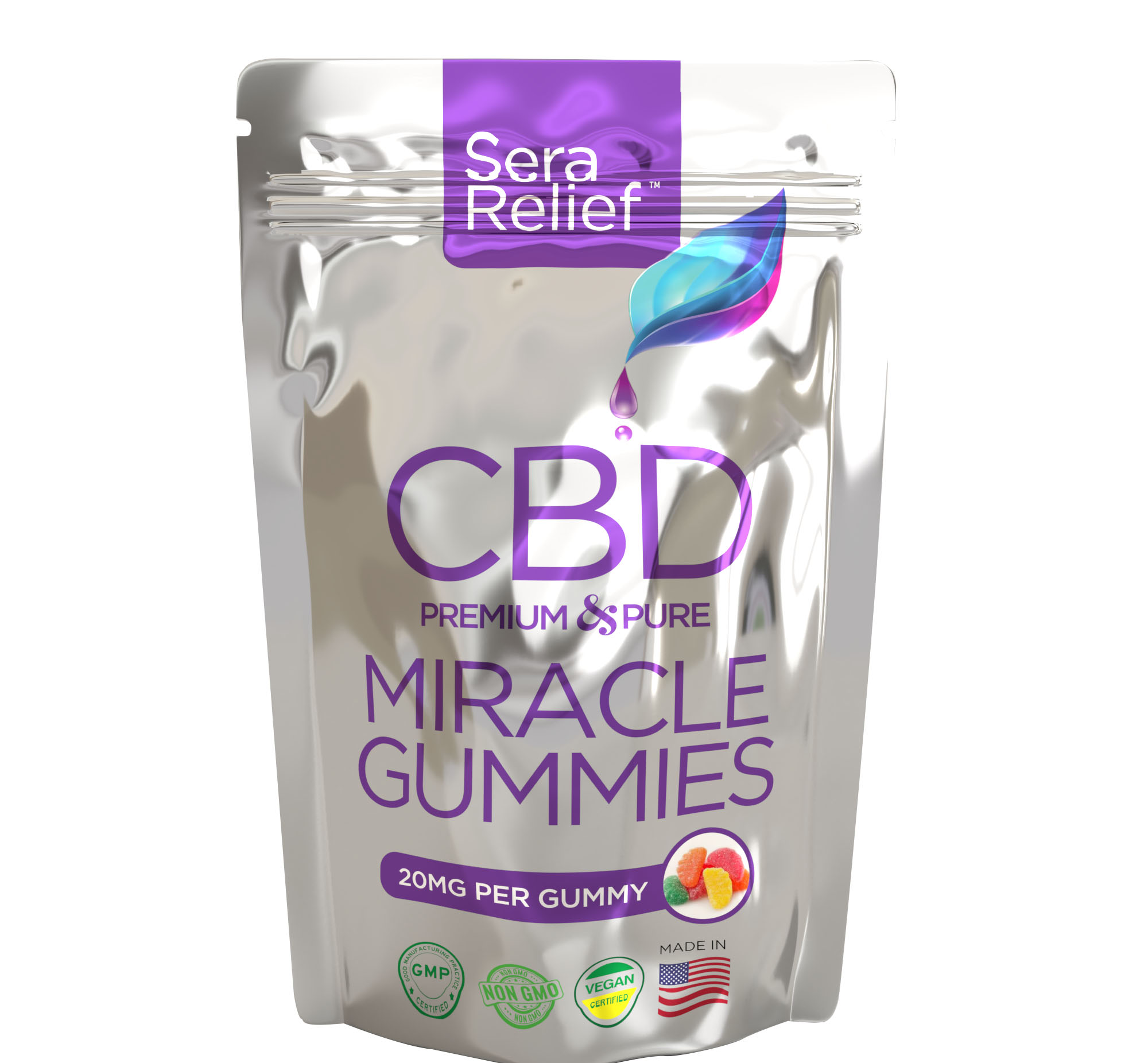 $19.99 (reg $35) Bag of 10 CBD...