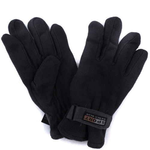3-Pack Polar Fleece Gloves