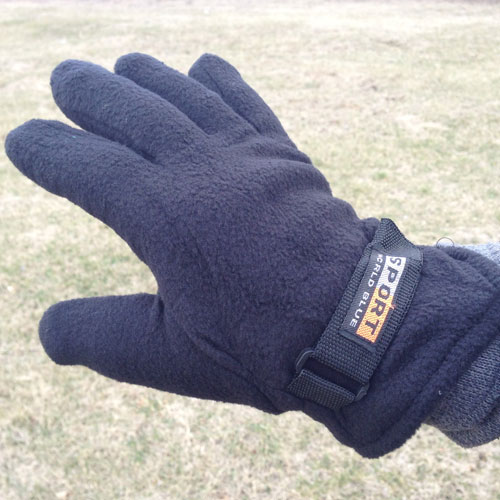 EARLY IN THE SEASON SALE - 3 Pack Polar Fleece Gloves - 3 Pairs For $6.49 or 6 Pairs For $9.98! - Just $1.66 per pair! One size fits most adult hands - (Little loose on smaller women's hands) - SHIPS FREE! BONUS: GRAB YOUR PHONE AND TXT THE WORD SECRET TO 88108 FOR ACCESS TO OUR SECRET DEALS!