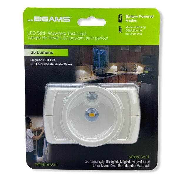 Mr. Beams Wireless Motion Sensor LED Under Cabinet Light