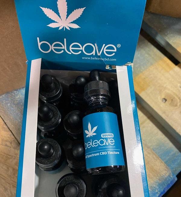 12 Bottles of Beleave Full Spe...