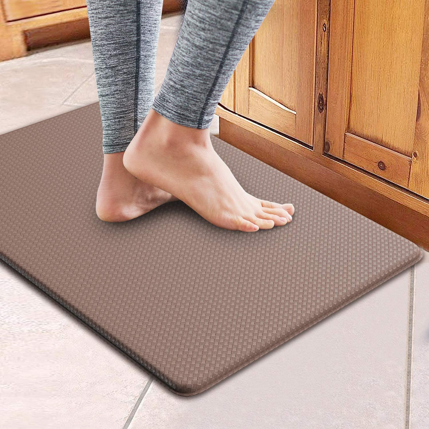 Anti-Fatigue High Density Mat - Great for kitchens, laundry rooms or anywhere you stand and want to ease the pain on your joints from the hard floors! - SHIPS FREE!