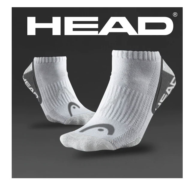 12 Pairs of Men's HEAD Brand Ankle Socks - EVEN BETTER, order 3 or more sets and the price drops so $8.99, just 75 cents per pair! SHIPS FREE!