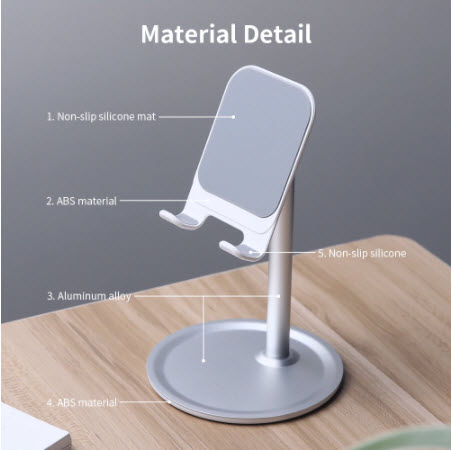 Universal and Adjustable Tablet Phone Holder