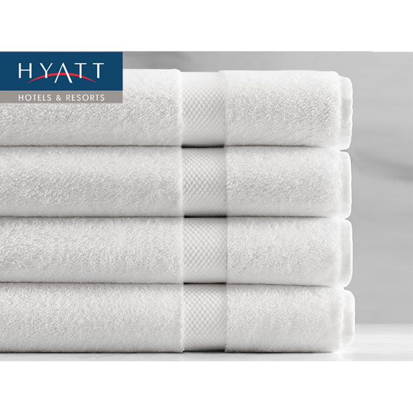 "4-Pack Hyatt Resort Extra Large (27"" x 60"") Bath Towels"