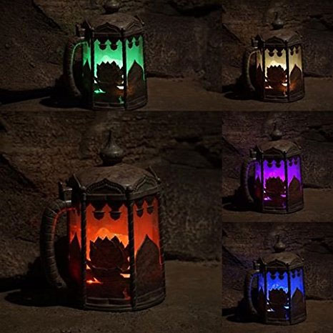 VERY UNIQUE - Disney Light Up Color Changing Stein - Sold exclusively In Disney Parks... Until Now! THESE ARE SO COOL! SEE THE VIDEO! - Bring a little fun of Disney to your home! :) - $1.49 shipping, but order 6 or more and shipping is FREE & IMMEDIATE!