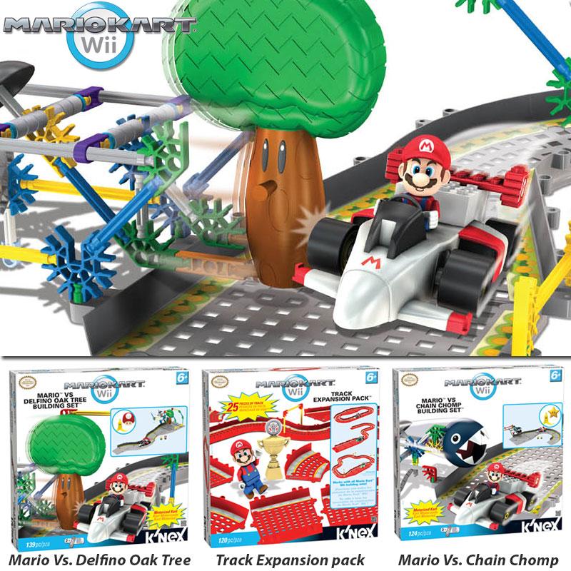 K Nex Mario Kart Buildings Sets And Expansion Track Pack Order