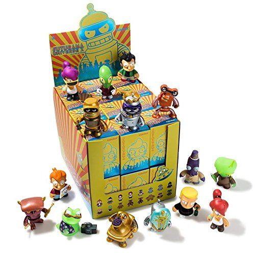 $5.49 (reg $13) Kidrobot- Futurama Universe X Random Mini Figure Blind Mystery Box