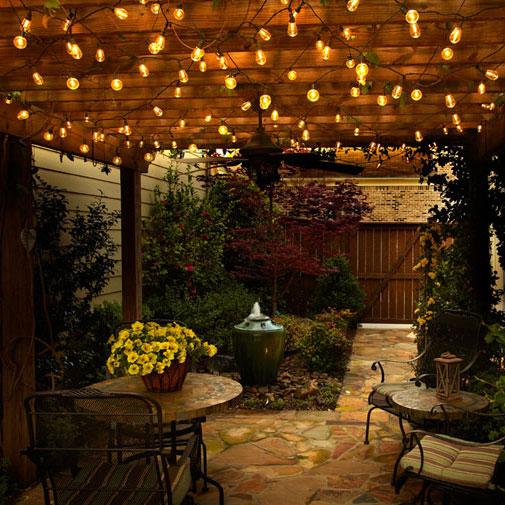 Led Indoor Outdoor Globe String Lights
