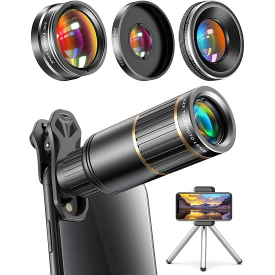 22x Telephoto Lens Kit for Phone Cameras $24.99 (reg $60)