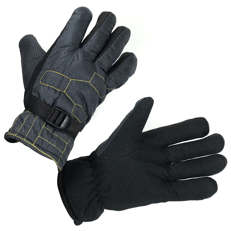 Men's Water Resistant Winter Gloves with Lining