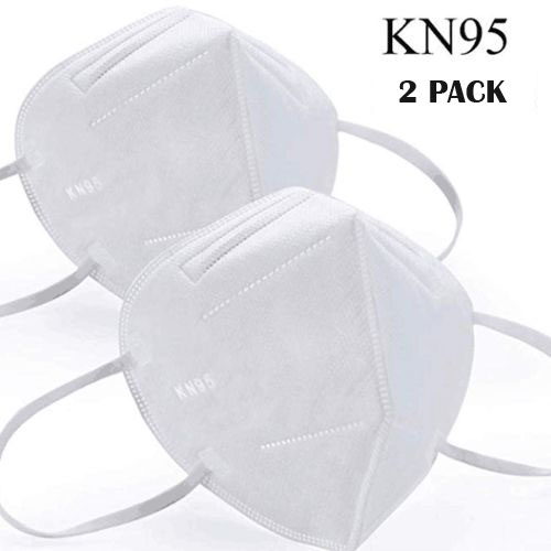 2-Pack KN95 Safety Germ Protection Face Mask