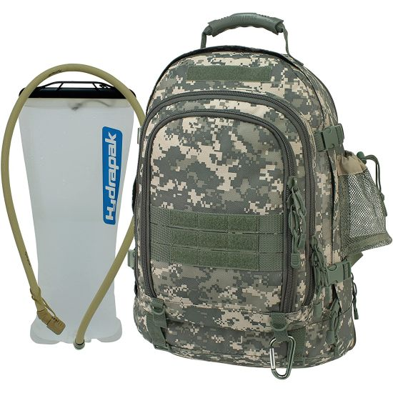 $27.99 (reg $84) Mercury Tactical Gear Code Alpha TAC PAC Expandable Backpack with Hydration System