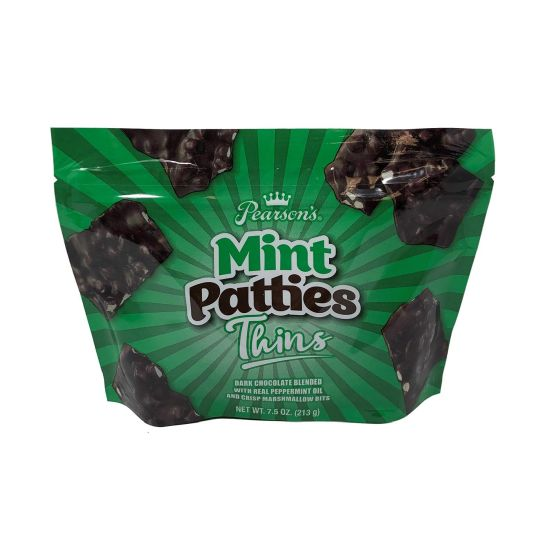 12 BAGS of Pearsons Chocolate Mint Pattie Thins $14.99 (reg $60)