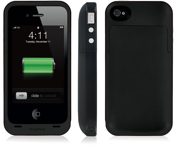 timeless design 18d5c a1bd5 Mophie Juice Pack Plus for iPhone 4 and 4S - Doubles your battery ...