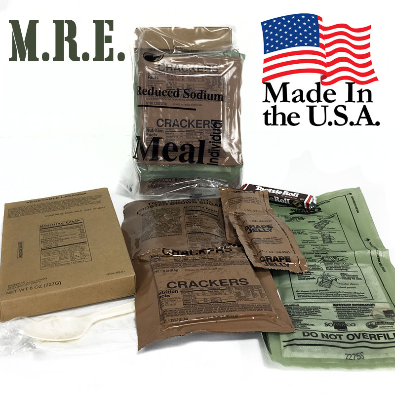 7-Pack MREs (Meal Ready To Eat) Meals