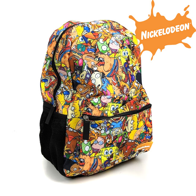 Nickelodeon Nicktoons Characters Backpack