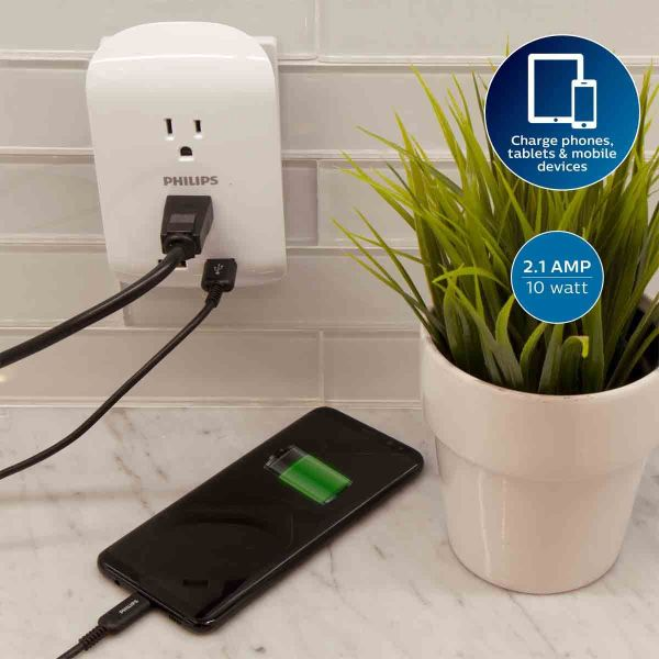 $6.49 (reg $15) Philips 2-Outl...