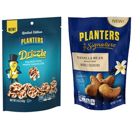 $29.99 (reg $64) 8 Bags of Planters Premium Nuts