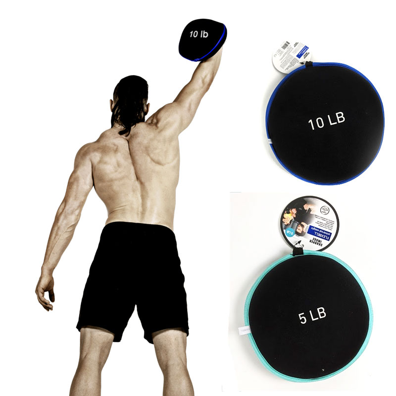 Flexbells Soft Flexible Strength Training Weights 5lb