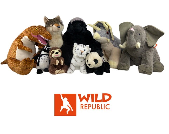 $11.99 (reg $90) Wild Republic Plush Animal Collection