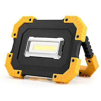 FINALLY Back in Stock! - Portable Rugged 2 Mode Ultra Bright 400 Lumen COB Work Light - Great for working, camping, fishing, emergencies and more! $25 at Home Depot, but only $7.49 from us! $1.49 cent shipping, but order 2 or more and SHIPPING IS FREE!