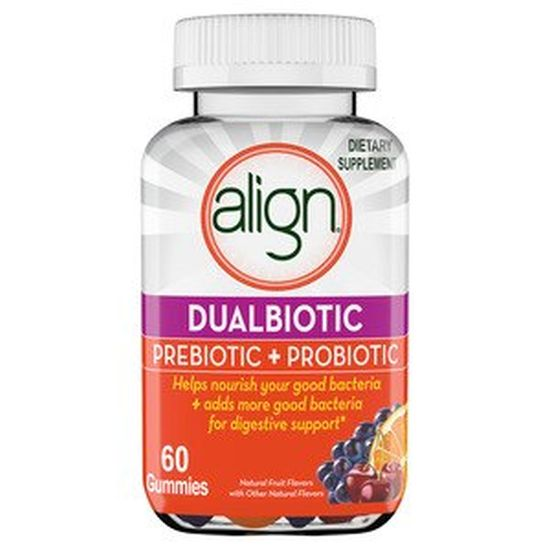 Align DualBiotic Prebiotic + Probiotic Gummies - Supplement for Adult Men & Women, Digestive Health Gummies in Natural Fruit Flavors, 60 Count - Currently $27 at CVS with 5 star reviews! - $1 shipping, but order 4 or more and SHIPPING IS FREE! - BONUS: GRAB YOUR PHONE AND TXT THE WORD SECRET TO 88108 FOR ACCESS TO OUR SECRET DEALS!