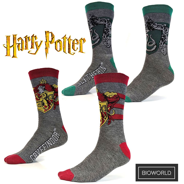 2 Pair Set of Harry Potter Adult Socks