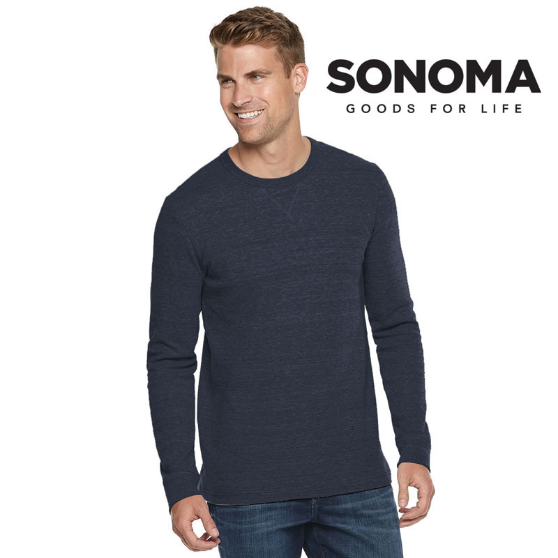 Men's Sonoma Thermal Top - Super Soft and Warm Cotton Poly Blend - Several Colors To Choose From! Order 3 or more for only $11.99 each! SHIPS FREE & IMMEDIATELY!